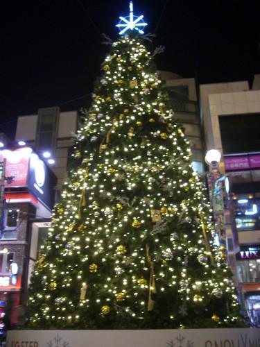 ビックステップのクリスマスツリー