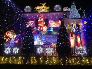 大阪のクリスマスイルミネーション 1