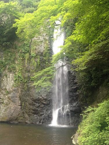 大阪の箕面の滝