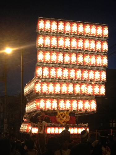 大阪岸和田だんじり祭り